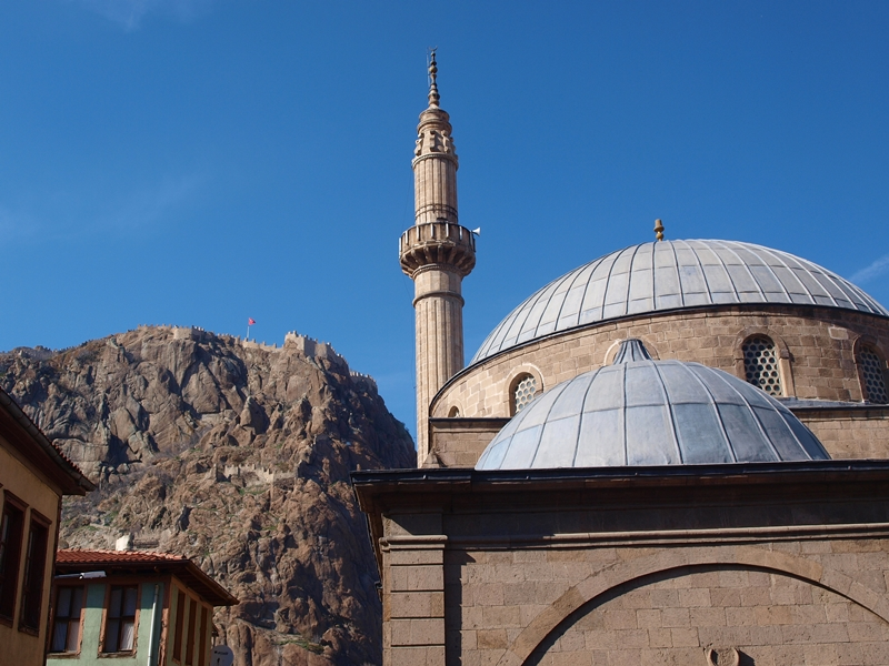 In Afyonkarahisar, Turkey.