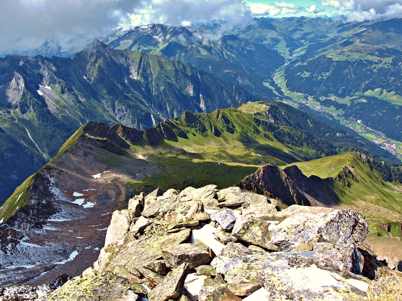 Tirolean Alps. Austria.