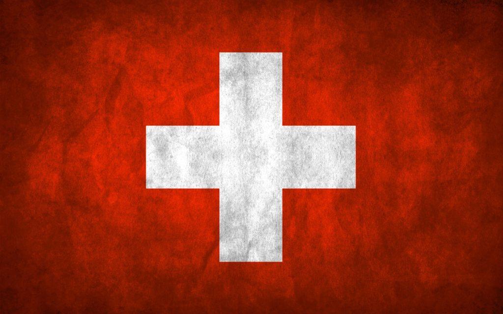 Heltvétsky kríž. Švajčiarska vlajka