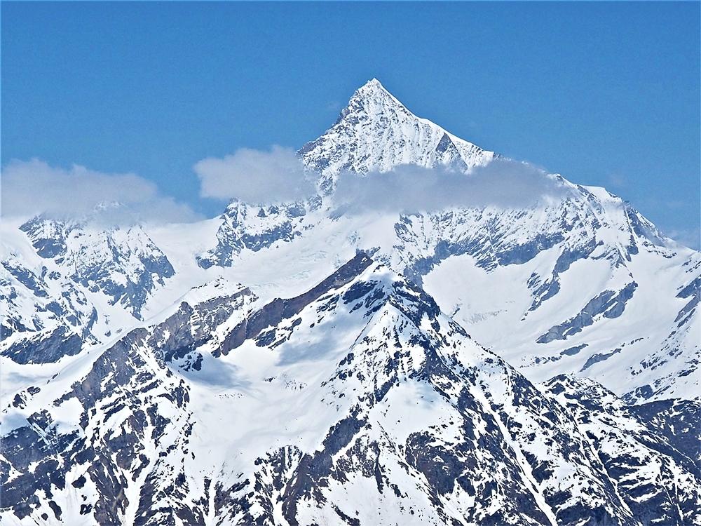 Weisshorn, piata najvyššia hora Álp