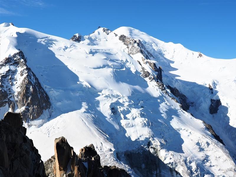 Najvyšší vrchol Európy a Álp – Mont Blanc