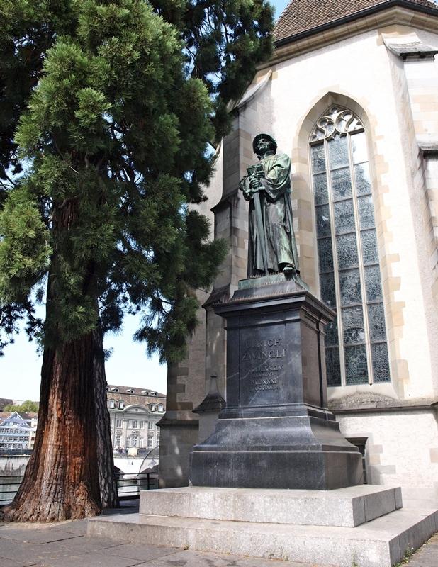 Ulrich Zwingli in Zürich.